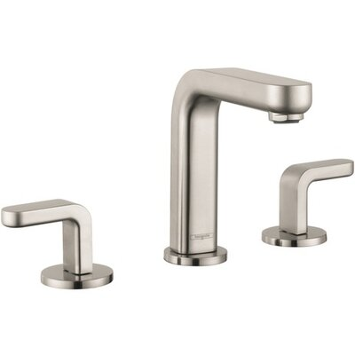 Metris S Two Handles Widespread Standard Bathroom Faucet Finish: Brushed Nickel
