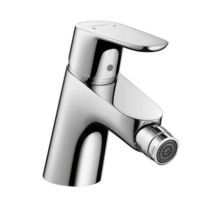 Focus E Single Handle Horizontal Spray Bidet Faucet Finish: Chrome