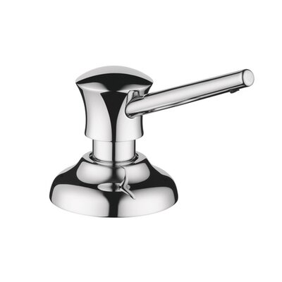 Traditional Soap Dispenser Finish: Chrome