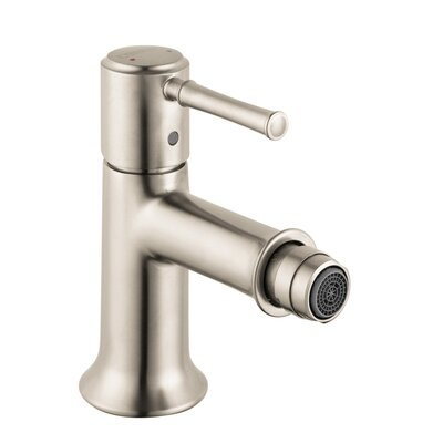 Talis C Single Handle Horizontal Spray Bidet Faucet Finish: Brushed Nickel
