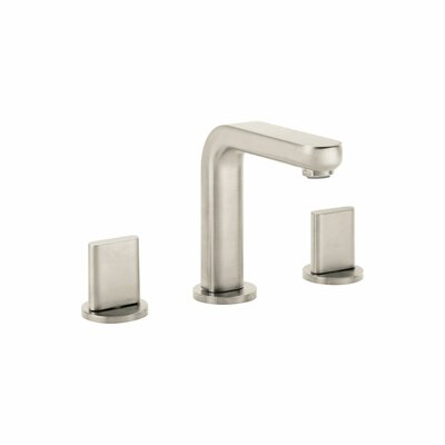 Metris Double Handles Widespread Standard Bathroom Faucet Finish: Brushed Nickel