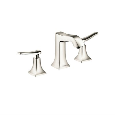 Metris C Two Handles Widespread Standard Bathroom Faucet Finish: Polished Nickel