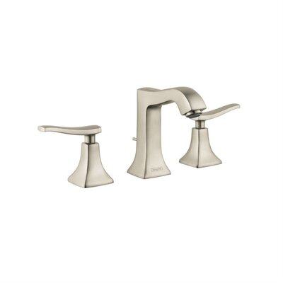 Metris C Two Handles Widespread Standard Bathroom Faucet Finish: Brushed Nickel