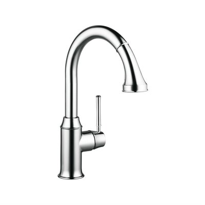 Talis C Single Handle Kitchen Faucet Finish: Chrome, Flow Rate: 1.75 GPM