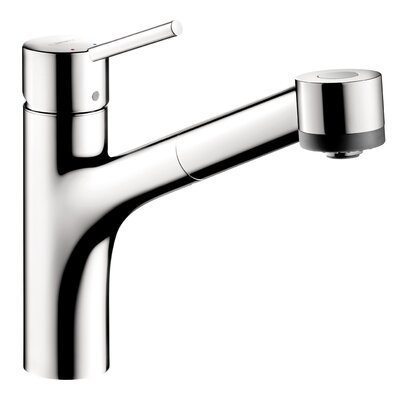 Interaktiv S Single Handle Kitchen Faucet Finish: Chrome