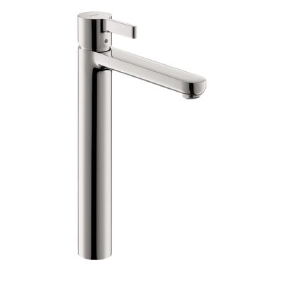 Metris S Single Handle Single Hole Standard Bathroom Faucet Finish: Brushed Nickel