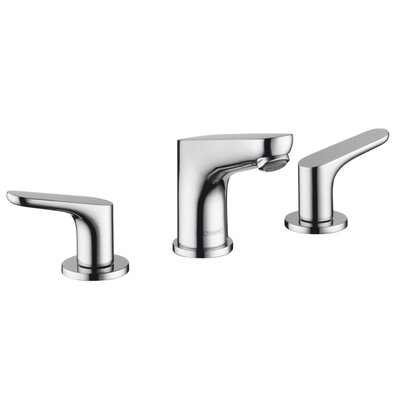 Focus Double Handle Widespread Standard Bathroom Faucet Finish: Chrome
