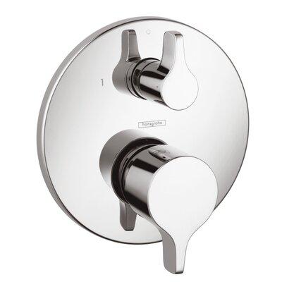 Metris E Pressure Balance Diverter Faucet Trim with Lever Handle Finish: Chrome