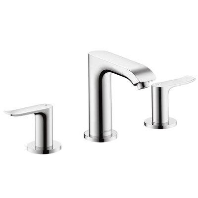 Metris E Double Handle Widespread Bathroom Faucet Finish: Chrome