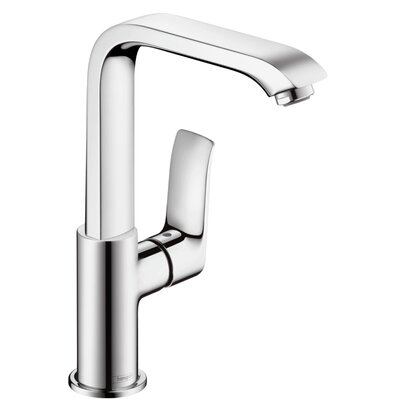 Metris Single Handle Single Hole Standard Bathroom Faucet Finish: Brushed Nickel