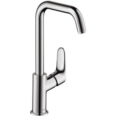 Focus Single Handle Single Hole Standard Bathroom Faucet Finish: Chrome