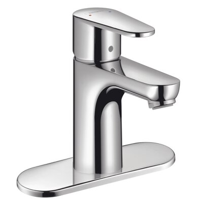 Talis E Single Handle Single Hole Bathroom Faucet Finish: Chrome