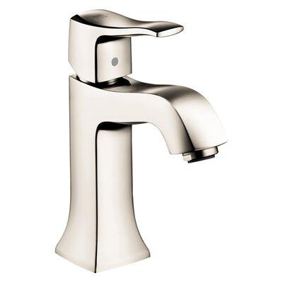 Metris C Single Handle Single Hole Standard Bathroom Faucet Finish: Chrome