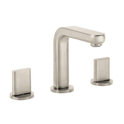 Metris Double Handles Widespread Standard Bathroom Faucet Finish: Brushed Nickel