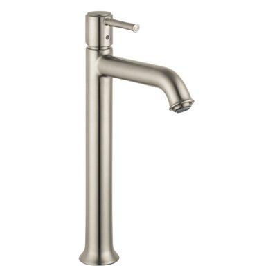 Talis C Single Handle Single Hole Tall Bathroom Faucet Finish: Brushed Nickel
