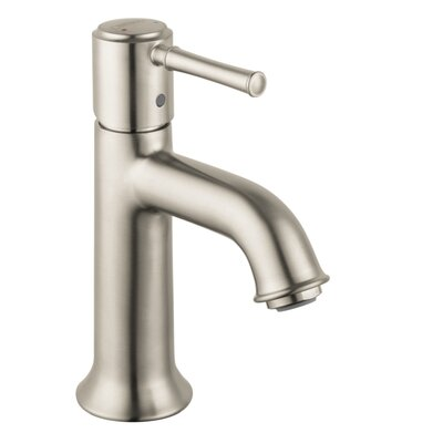 Talis C Single Handle Single Hole Standard Bathroom Faucet Finish: Brushed Nickel
