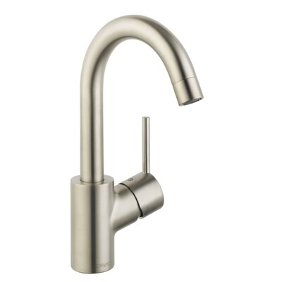 Talis S Single Handle Single Hole Standard Bathroom Faucet Finish: Brushed Nickel