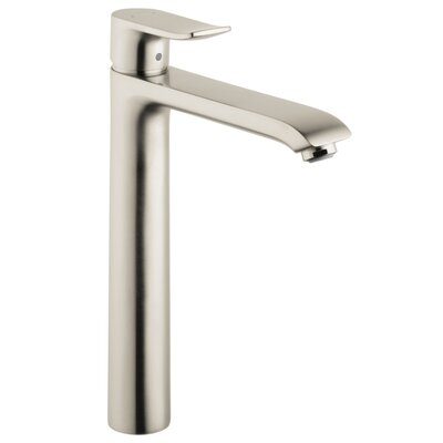 Metris E Single Handle Single Hole Standard Bathroom Faucet Finish: Brushed Nickel