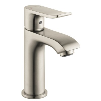 Metris Single Handle Single Hole Standard Bathroom Faucet Finish: Brushed Nickel