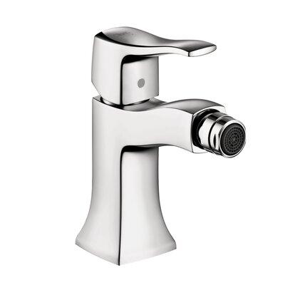 Metris C Single Handle Horizontal Spray Bidet Faucet Finish: Chrome