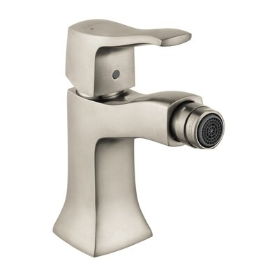 Metris C Single Handle Horizontal Spray Bidet Faucet Finish: Brushed Nickel