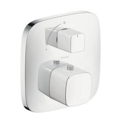 PuraVida Thermostatic Volume Control Faucet Trim Finish: Chrome/White