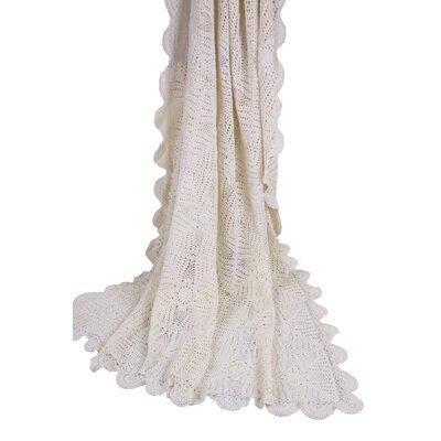 Georgia Crochet Cotton Throw TH3035