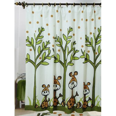 Jovi Home Giraffe Cotton Shower Curtain at Sears.com