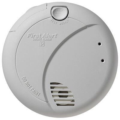 Smoke Alarm with Photoelectric Sensor and Battery Backup 7010B