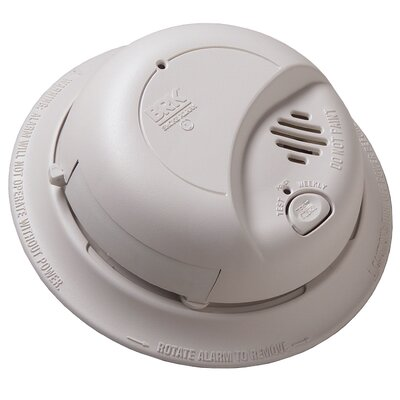 Contractor Pack Smoke Alarm with Battery Backup 9120B6CP