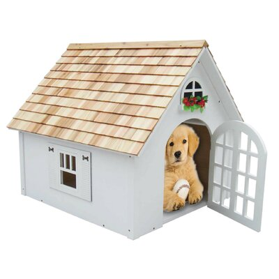 Bark-itecture Victorian Dog House White