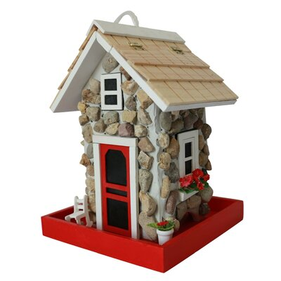 Fieldstone Guest Cottage Decorative Bird Feeder HB-6004BFS