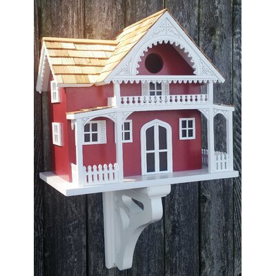 Shelter Island Summer Cottage 10 in x 11 in x 7 in Birdhouse HB-9507WS