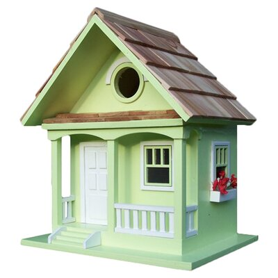 Birds Of A Feather Cottage Birdhouse HBB-1001S