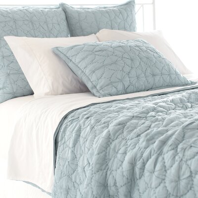 Marina Quilt Size: King, Color: Sky