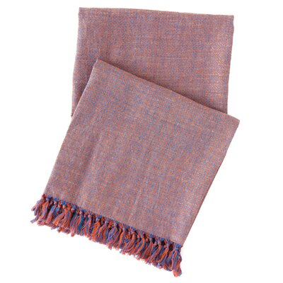Spice Diamond Linen Throw