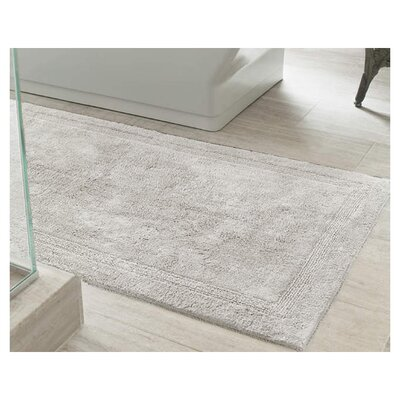 Signature Bath Rug Size: 20 x 30, Color: Dove Grey