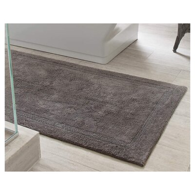 Signature Bath Rug Size: 32 x 64, Color: Shale