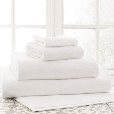 Signature Hand Towel Color: White