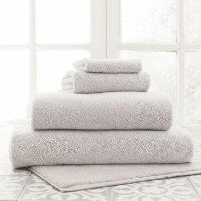 Signature Hand Towel Color: Grey