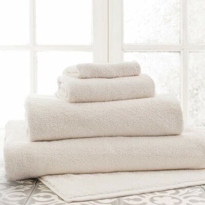 Signature Hand Towel Color: Ivory