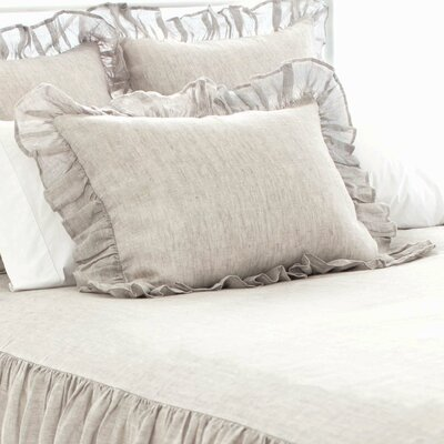 Chambray Savannah Sham Color: Dove Grey, Size: Standard