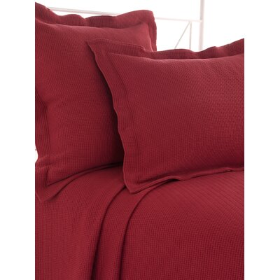 Interlaken Matelasse Sham Size / Color: Standard / Brick