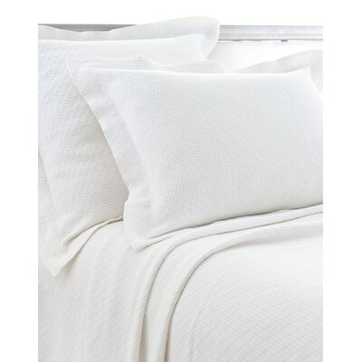 Interlaken Matelasse Sham Size / Color: Euro / White