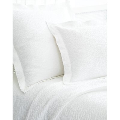 The Bright Stuff Scramble Matelasse Sham Size / Color: Standard / White