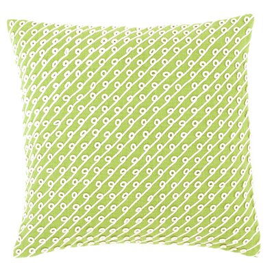 Chadna Cotton Throw Pillow Color: Citrus