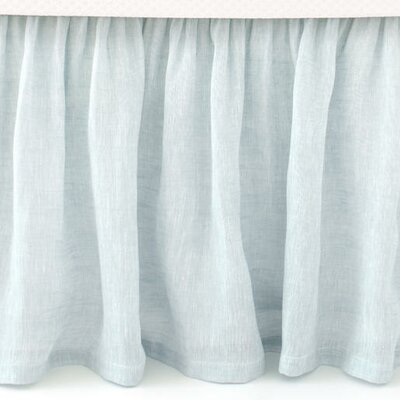 Savannah Linen Bed Skirt Size: King