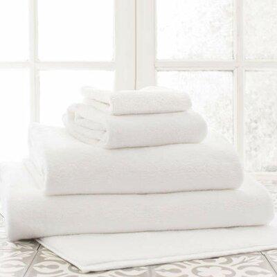 Signature Wash Cloth Color: White
