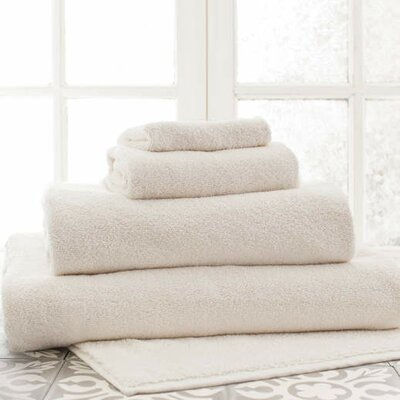 Signature Bath Sheet Color: Ivory