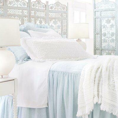 Savannah Linen Bedspread Size: Queen